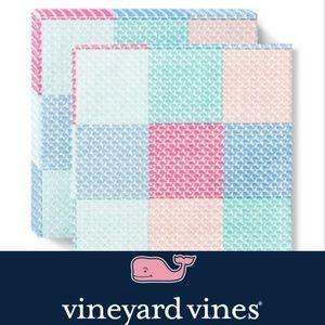 NEW! Patchwork Lunch Napkins Vineyard Vines
